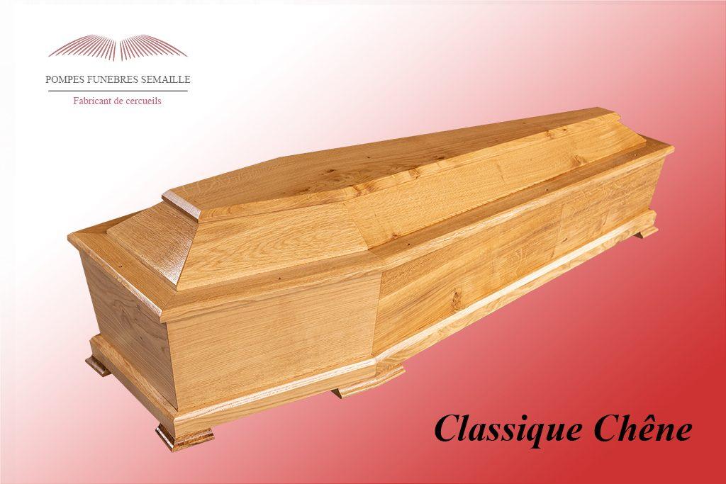 Cercueil Classique Chêne