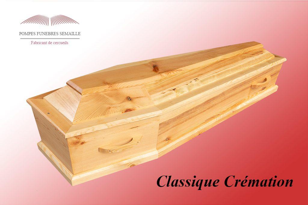 Cercueil Classique Crémation