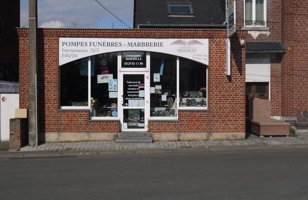 Pompes funèbres SEMAILLE à Avesnes-sur-Helpe