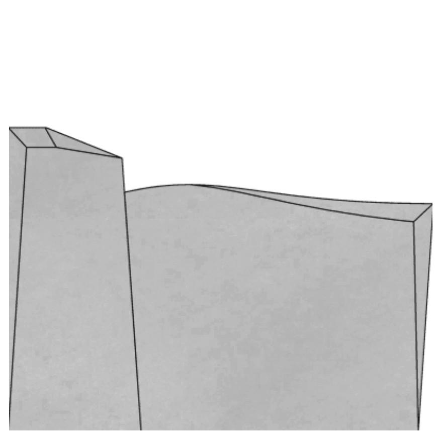 Stèle S612 chanfreins