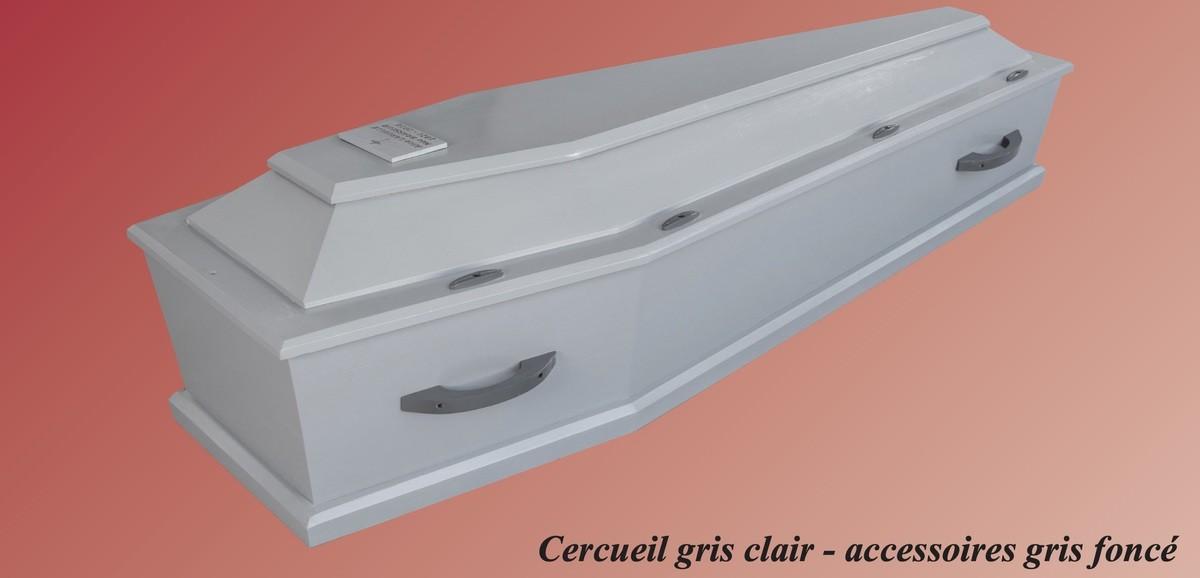 Cercueil Gris Clair