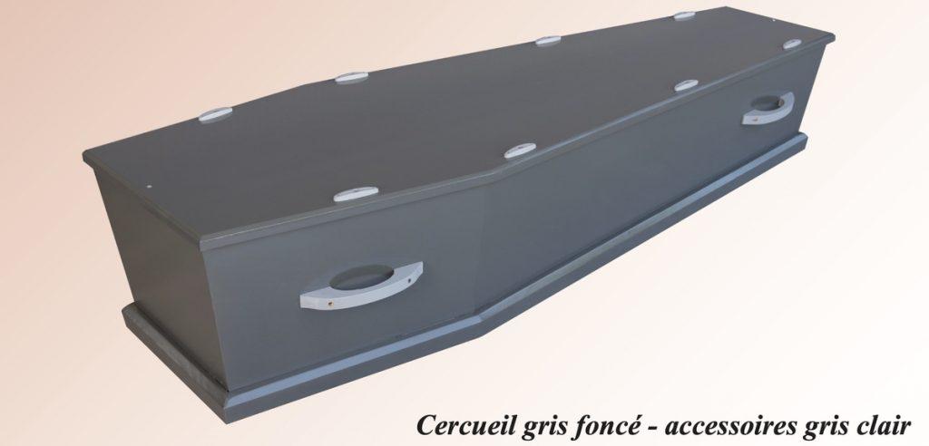 Cercueil Gris Foncé