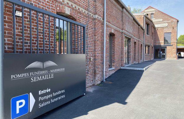 Funérarium à Trith-Saint-Léger